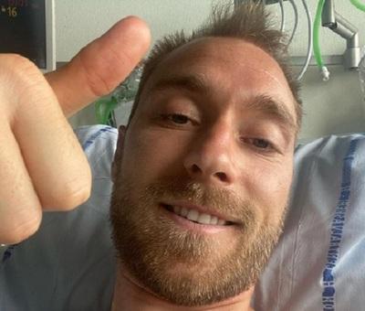 """Eriksen recibe el alta tras operación """"satisfactoria"""""""