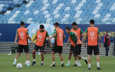 Chile y Bolivia juegan en Cuiabá