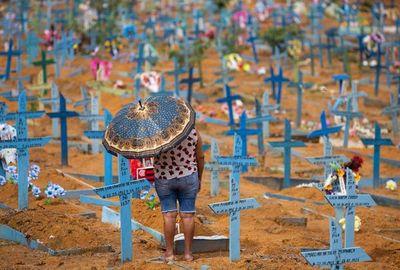 Brasil roza las 500.000 muertes por la covid-19
