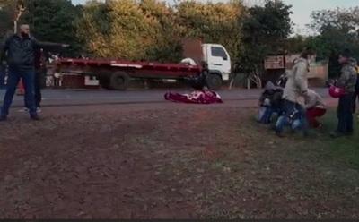 Un hombre muere en accidente de tránsito en Hernandarias