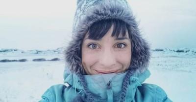 La historia de la mujer que decidió aislarse del mundo durante la pandemia y se fue al Ártico
