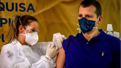 2,2 millones de inmunizados, Brasil rompió récord diario de vacunación antiCOVID