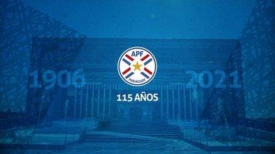 Guaraní, Cerro y Olimpia felicitan a la APF por un nuevo aniversario