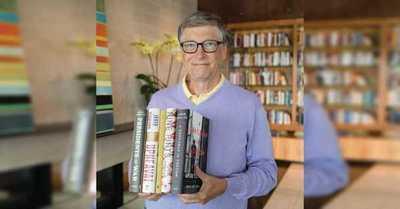 Bill Gates recomendó los cinco libros que lo han maravillado este 2021