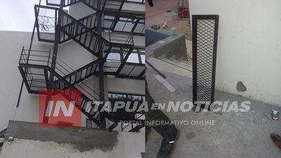 OBRERO CAYÓ DESDE UNOS 6 METROS DE ALTURA