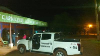 ITAPÚA POTY: DELINCUENTES ATRACAN UN COMERCIO