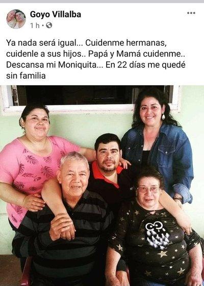 Covid: en menos de 30 días, murieron cuatro integrantes de una misma familia