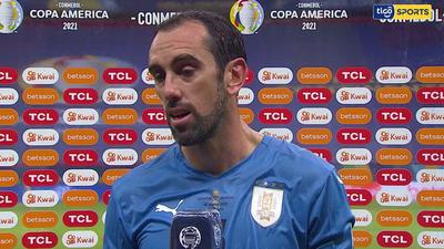 Diego Godín habla de una amargura tras la derrota
