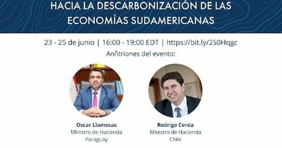 La Nación / Hablarán sobre la descarbonización de sus economías