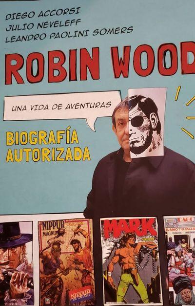 Biografía autorizada de Robin Wood será lanzada hoy en Paraguay