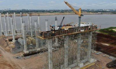 Alistan caminos de accesos al Puente Héroes del Chaco
