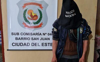 Joven es detenido por conducir motocicleta sin chapa y por no contar con licencia de conducir – Diario TNPRESS
