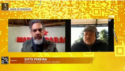 """Cartes """"participó activamente"""" en el juicio político a Lugo, afirma Sixto Pereira"""