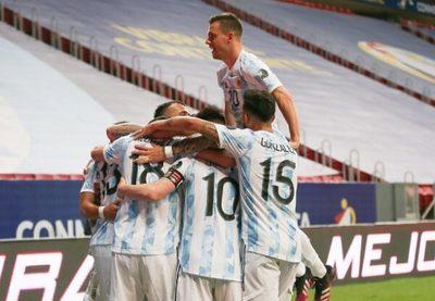 Argentina vence y llegará fortalecida al partido ante la Albirroja