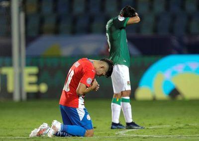 Julio Enciso, de Paraguay, el más joven de la Copa América
