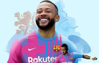 Barcelon ficha a Memphis Depay, mientras sigue mirando a Messi