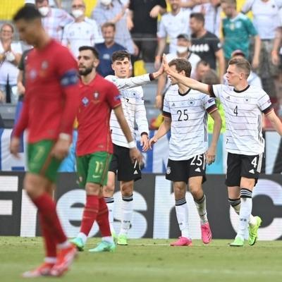Francia se frenó ante Hungría y Alemania despachó a Portugal