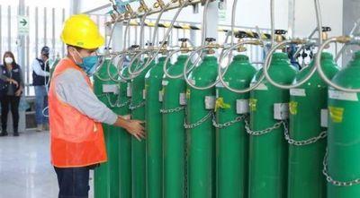 Brasil exportará 480 toneladas de oxígeno medicinal a nuestro país