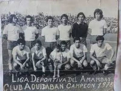 El Club Aquidabán celebra 101 años de vida institucional