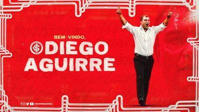 Diego Aguirre es nuevo técnico del Internacional de Porto Algre