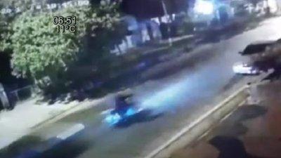 Policía impacta a motociclista en Areguá y es liberado rápidamente