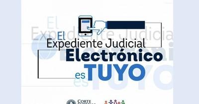 La Nación / Ciudadanía podrá acceder a sus casos judiciales a través del expediente electrónico