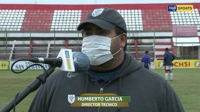 García, dolido por la derrota, pero satisfecho con el rendimiento