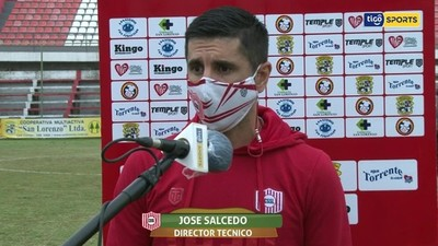Mingo Salcedo, orgulloso de sus jugadores