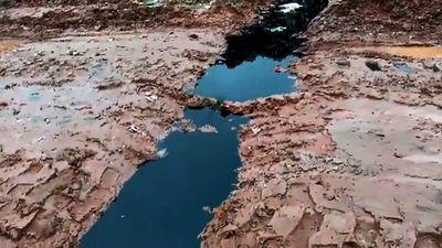 Detectaron fuga de lixiviado en el vertedero Cateura, tras intervención