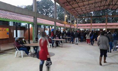 Dos colegios electorales habilitados en Franco para los colorados