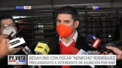 """Óscar Rodríguez insta a elegir entre un modelo de """"gestión"""" y otro que hizo """"tanto daño"""""""