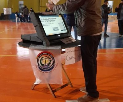 Votantes podrán capacitarse en uso de la máquina de votación