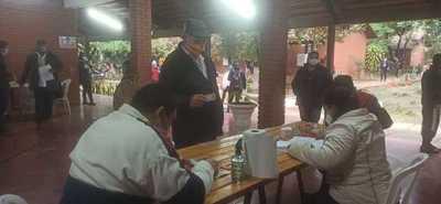 Inician con normalidad las elecciones municipales en Coronel Oviedo