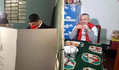 Nenecho vota y Dani desayuna