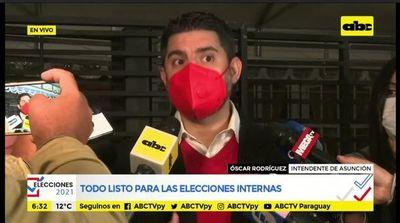 """""""Nenecho"""" Rodríguez votó sin respetar protocolo sanitario"""
