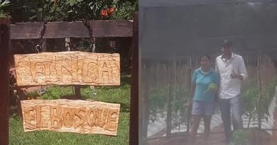 La Nación / Ejemplo de superación: mujer empoderada de Atyrá armó huerta para paliar la crisis sanitaria