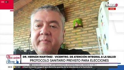 Viceministro de Salud pide a los votantes que también vayan a vacunarse