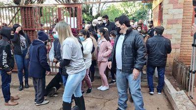 Problemas con las máquinas y disturbios en Villarrica