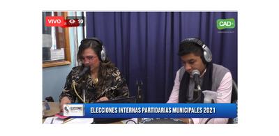 Concepción: En vivo cobertura elecciones partidarias municipales 2021