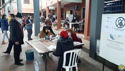 Jornada cívica relativamente tranquila en Luque •