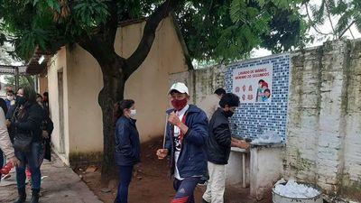 Plagueo por pocos lavamanos en locales de votación