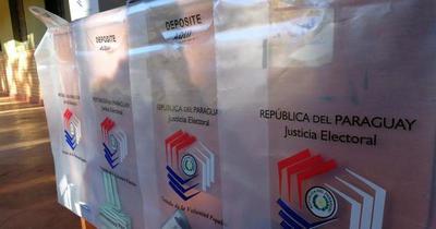 Principales candidatos a la intendencia de Asunción ya votaron