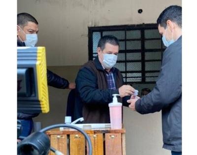 Horacio Cartes también votó