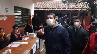 Vicepresidente Hugo Velázquez pide que afiliados acudan a votar