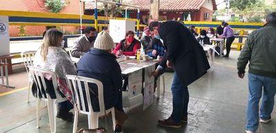 Jornada electoral sin muchos incidentes en Luque
