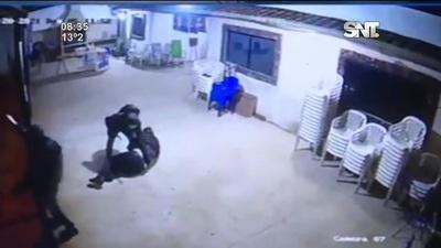Intendente de San Antonio sufrió un violento asalto