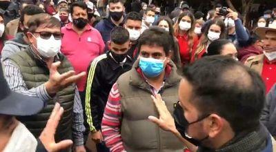 Antimotines refuerzan seguridad de local de votación en Minga Guazú donde cartistas ocasionaron escaramuzas