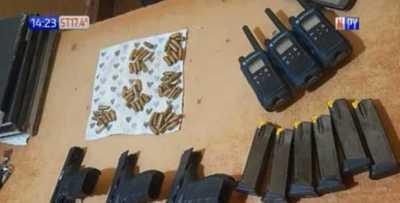 Caazapá: 3 detenidos por ingresar armados a local electoral