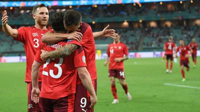 Resumen del partido Suiza 3-1 Turquía