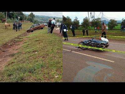 MOTOCICLISTA FALLECE EN ACCIDENTE EN EDELIRA